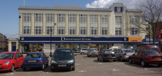 Co-op Department Store, Great Yarmouth, prior to Vergo Retail's takeover. Photograph by Stephen McKay