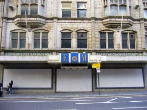 Union Street frontage of former Esslemont & Macintosh store, Aberdeen