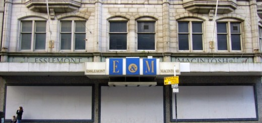 Union Street frontage of former Esslemont and Macintosh store, Aberdeen