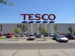 Tesco in Eger, Hungary