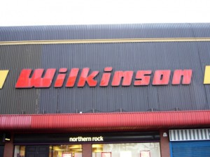 Old logo at Gateshead store