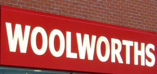Former Woolworths store. Photograph by Graham Soult