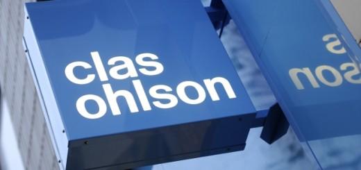 Clas Ohlson sign