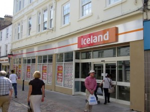Iceland continues to pick up more Woolies stores - this one in Hexham was acquired in January