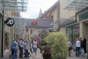 Wellington Square's H&M store