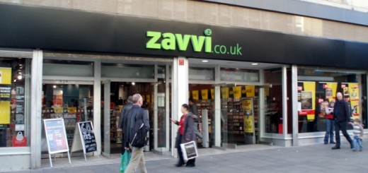 Newcastle's Zavvi store in happier times. Photograph by Mankind 2k