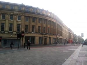 Vacant stores in Grainger Street