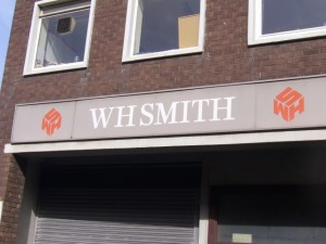 Back of the WHSmith store in Redcar (17 Sep 2009)