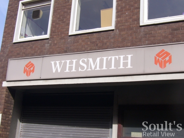 Back of the WHSmith store in Redcar (17 Sep 2009). Photograph by Graham Soult
