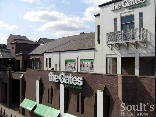 The Gates Shopping Centre in Durham