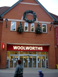 Former Woolworths, Chesterfield (30 Dec 2008)