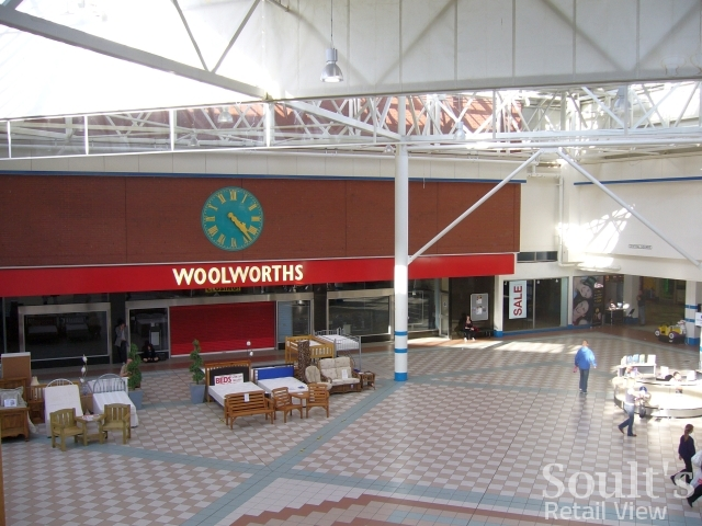 Former Woolworths, Hartlepool (17 Sep 2009). Photograph by Graham Soult