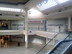 Former Woolworths at MetroCentre. Photograph by Graham Soult