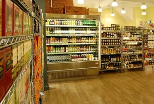 Interior of Olive and Bean, Newcastle. Photograph courtesy of oliveandbean.co.uk
