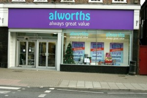 Alworths in Amersham