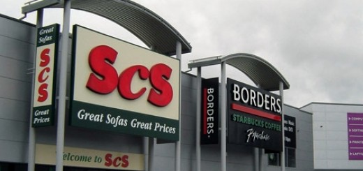 Borders at Retail World, Gateshead. Photograph courtesy of Land Securities
