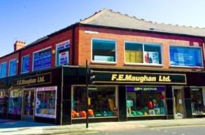 F E Maughan store in Whitley Bay