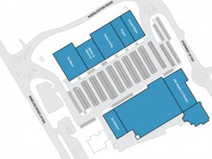 Newcastle Shopping Park plan (source: NSP website)