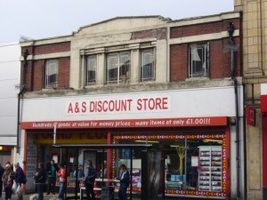 Original Woolworths, Byker (27 Sep 2009). Photograph by Graham Soult