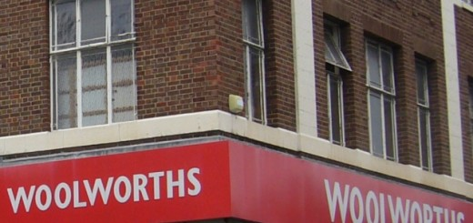 Vacant former Woolworths store
