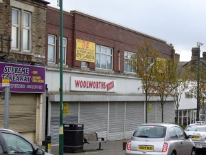 Former Woolworths, Consett (10 Oct 2009)