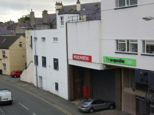Back of former Woolworths, Holyhead (23 Sep 2009)