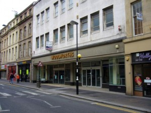Former Woolworths, Clayton Street, Newcastle (27 Sep 2009). Photograph by Graham Soult