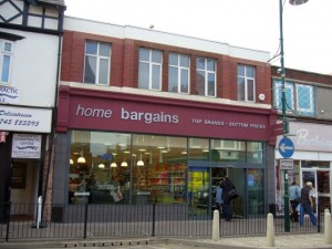 Former Woolworths - now Home Bargains - in Prestatyn (25 Sep 2009)