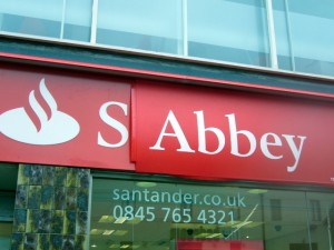 Abbey/Santander looks like it's between brands at the moment