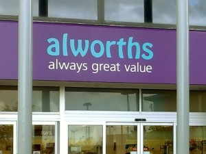 Alworths fascia