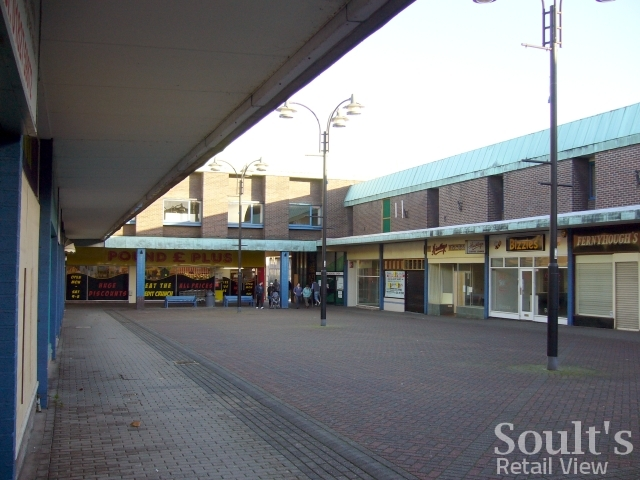 A near-deserted Gungate Precinct awaits demolition (22 Dec 2008). Photograph by Graham Soult