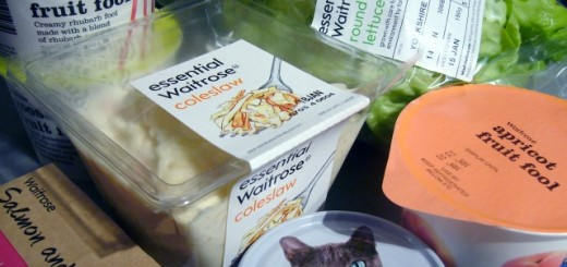 Waitrose products. Photograph by Graham Soult