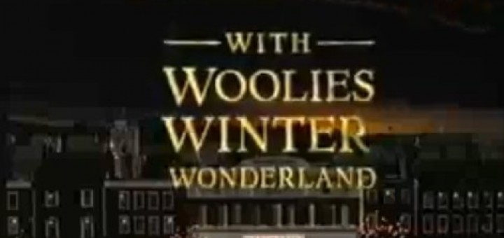 Shot from 1998 'Woolies Winter Wonderland' TV ad