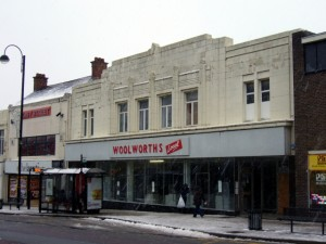Former Woolworths, Chester-le-Street (2 Jan 2010). Photograph by Graham Soult