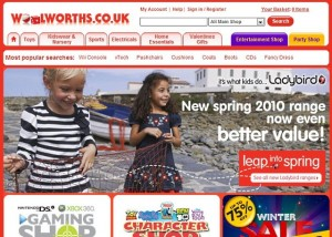 Shop Direct's Woolworths.co.uk