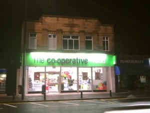 Former Woolworths (now The Co-operative Food), Gosforth (16 Jan 2010). Photograph by Graham Soult