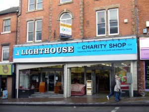 Former Woolworths (now Lighthouse charity shop), Heanor (23 Dec 2009). Photograph by Graham Soult