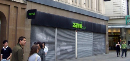 Former Zavvi, Newcastle (27 Sep 2009)