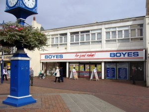 Boyes, Redcar (17 Sep 2009). Photograph by Graham Soult