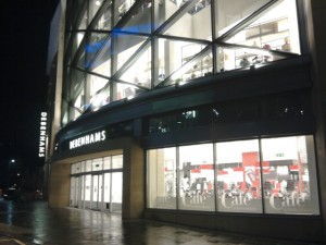 Debenhams, Newcastle (15 Feb 2010). Photograph by Graham Soult
