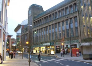 Former Co-op department store, Newgate Street (16 Feb 2010). Photograph by Graham Soult