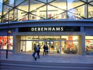 Debenhams, Eldon Square (16 Feb 2010). Photograph by Graham Soult