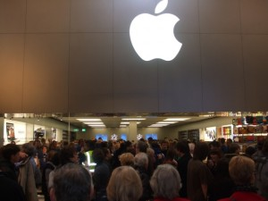 Apple Store, Eldon Square (16 Feb 2010). Photograph by Peter (aka 'Newcastle Historian')