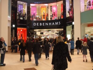Debenhams, Eldon Square (16 Feb 2010). Photograph by Peter (aka 'Newcastle Historian')