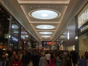 St Andrew's Way, Eldon Square (16 Feb 2010). Photograph by Peter (aka 'Newcastle Historian')