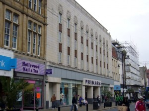 Former Woolworths (now Primark), Sunderland (21 Nov 2009). Photograph by Graham Soult