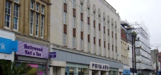 Former Woolworths (now Primark), Sunderland (21 Nov 2009). Photograph by Graham Soult