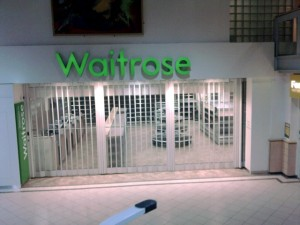 Waitrose at Welcome Break's Hopwood Park Services (7 Feb 2010). Photograph by Mark Leaver