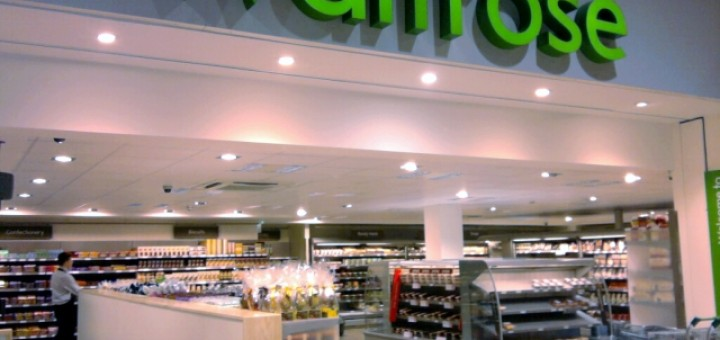 Waitrose Hopwood Park (14 Feb 2010). Photograph by Mark Leaver