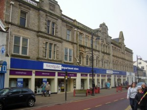 Westgate Department Store, Bishop Auckland (6 Feb 2010). Photograph by Graham Soult